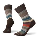 Smartwool Men's Saturnsphere Sock - Chestnut / Pine Gray (SW0SW942-C84)