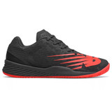 New Balance Men's 896v3 Tennis - Black / Energy Red - MCH896R3 - Profile