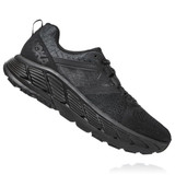 HOKA One One Women's Gaviota 2 - Black with Dark Shadow - 1099630-BDSD - Profile