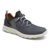 Rockport Men's Let's Walk Bungee Sneaker - Blue Nubuck - CH2889 - Main Image
