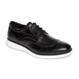 Rockport Men's Garett Wingtip - Black / White - CH4303 - Main