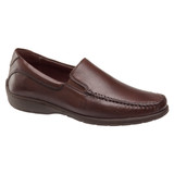 Johnston & Murphy Men's Crawford Venetian - Mahogany Tumbled - 20-4436 - Profile