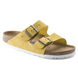 Birkenstock Arizona Soft Footbed - Ochre Suede (Regular Width) - 1015889 - Main