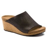 Birkenstock Papillio Women's Namica - Washed Metallic Antique Black (Narrow Width) - 1014837 - Angle