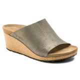Birkenstock Papillio Women's Namica - Washed Metallic Stone Gold (Narrow Width) - 1014879 - Angle