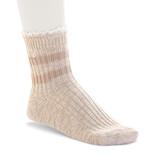 Birkenstock Fashion Slub Lace Sock - Beige Melange - 1005799