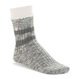 Birkenstock Fashion Slub Lace Sock - Mid Gray Melange - 1005800 -  Main Image