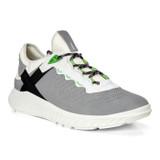 ECCO Men's ST.1 Lite Sneaker - Wild Dove / White - 504214-52000 - Angle