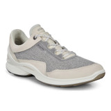 ECCO Women's Biom Fjuel Outdoor Shoe - Shadow White - 837603-01152 - Angle