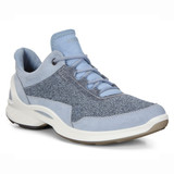 ECCO Women's Biom Fjuel Outdoor Shoe - Dusty Blue - Angle