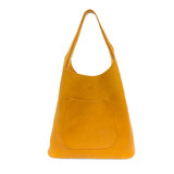 Joy Susan Molly Slouchy Hobo Handbag - Amber - Profile