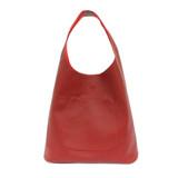 Joy Susan Molly Slouchy Hobo Handbag - Sangria - Profile