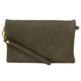 Joy Susan New Kate Crossbody Clutch - Olive - Profile