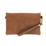 Joy Susan New Kate Crossbody Clutch - Hickory - Profile