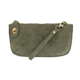 Joy Susan Lux Crossbody Wristlet Clutch - Fern - Profile