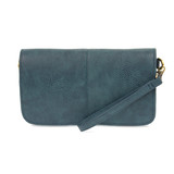 Joy Susan Mia Multi Pocket Crossbody Clutch - Dark Chambray - Profile