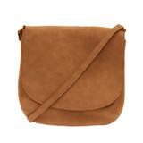 Joy Susan Jackie Large Flap Sueded Medium Crossbody Handbag - Profile