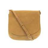 Joy Susan Jackie Large Flap Sueded Medium Crossbody Handbag - Khaki - Profile 2
