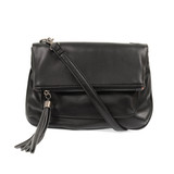 Joy Susan Alice Crossbody with Tassel Handbag - Black - Profile
