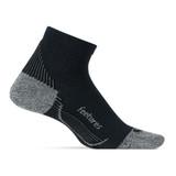 Feetures PF Rel Sock Ultra Quarter - Black - Profile Pic