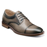 Stacy Adams Men's Flemming Cap Toe Oxford - Gray - 25304-020 - Angle