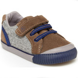 Stride Rite Parker Sneaker - Brown - Profile Pic
