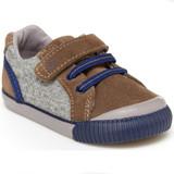 Stride Rite Parker Sneaker - Brown - Profile Pic