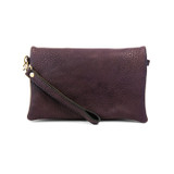 Joy Susan New Kate Crossbody Clutch - Eggplant - Profile