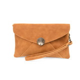 Joy Susan Vanessa Vintage Crossbody - Whiskey - Profile 2