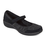 Aetrex Women's Mina Mary Jane - Black - BB420 - Angle