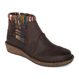 Aetrex Women's Tessa Ankle Boot - Chocolate Nubuck - SD922 - Main