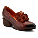 Spring Step Women's Noora Pump - Brown - NOORA-BR - Angle