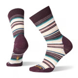 Smartwool Women's Margarita Socks - Bordeaux - SW0SW717-590