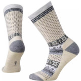 Smartwool Women's Cozy Cabin Crew Socks - Natural - SW010048-100