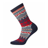 Smartwool Women's Crew Socks - Dazzling Winter Navy - Profile