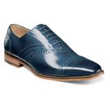 Stacy Adams Men's Talford Cap Toe Oxford - Blue - 25293-400 - Angle