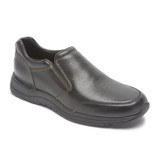 Rockport Men's Men's Edge Hill II Double Gore Slip-On - Black - CH5181 - Angle