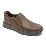 Rockport Men's Men's Edge Hill II Double Gore Slip-On - Light Brown - CH6287 - Angle