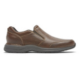 Rockport Men's Men's Edge Hill II Double Gore Slip-On - Light Brown - CH6287 - Profile