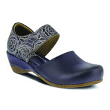 Spring Step Women's Gloss-Pansy Mary Jane - Navy - GLOSS-PANSY-N - Angle