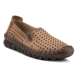 Spring Step Women's Smooshietoo Slip-On Shoe - Camel  - SMOOSHIETOO-CA - Angle