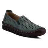 Spring Step Women's Smooshietoo Slip-On Shoe - Teal - SMOOSHIETOO-TL - Angle