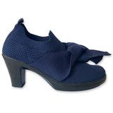 bernie mev. Women's Chesca Serenity Pump - Navy - CHESCASERENITY/NAVY - Profile