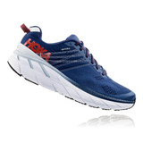 HOKA ONE ONE Men's Clifton 6 - Ensign Blue / Plein Air - 1102872-EBPA - Profile