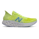 New Balance Women's Fresh Foam 1080v10 Running - Lemon Slush - W1080S10 - Profile