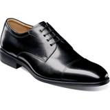 Florsheim Men's Amelio Cap Toe Oxford - Black - 14243-001 - Angle