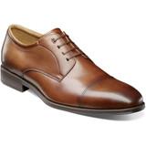 Florsheim Men's Amelio Cap Toe Oxford - Cognac - 14243-221 - Angle
