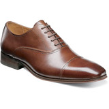 Florsheim Men's Corbetta Cap Toe Oxford - Cognac - 14180-221 - Profile