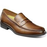 Florsheim Men's Amelio Moc Toe Penny Loafer - Cognac - 14246-221 - Profile
