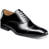 Florsheim Men's Corbetta Cap Toe Oxford - Black - 14180-001 - Profile